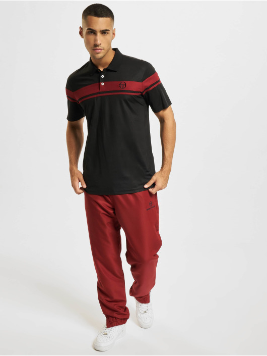 Sergio Tacchini Poloshirt Young Line Pro Polo Y Dyed schwarz