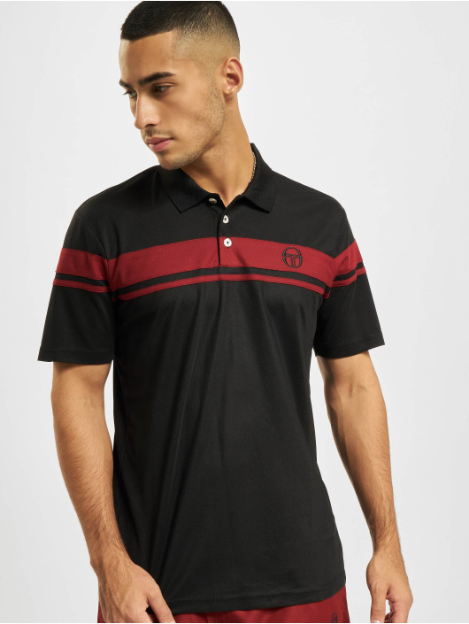 Sergio Tacchini poloshirt Young Line Pro Polo Y Dyed zwart