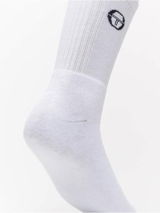 Sergio Tacchini Ponožky Pro biela