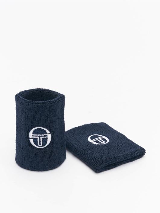 Sergio Tacchini Pozostałe Tennis Wristband niebieski