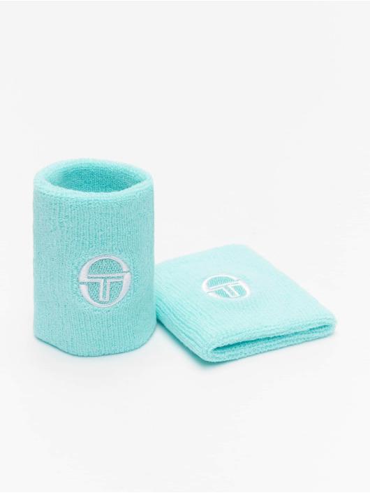 Sergio Tacchini Pozostałe Tennis Wristband 2 Pack niebieski