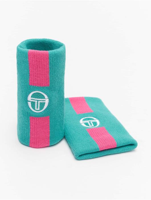Sergio Tacchini Pozostałe Prisma Wristband 2 Pack zielony