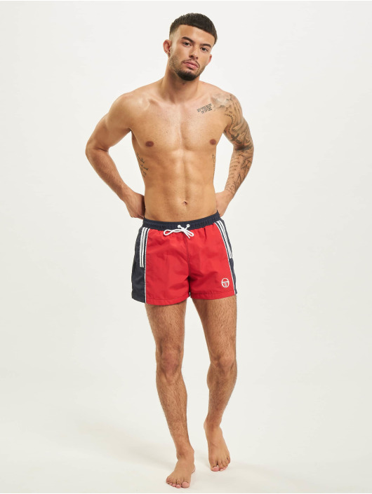 Sergio Tacchini Short de bain Cyprus rouge