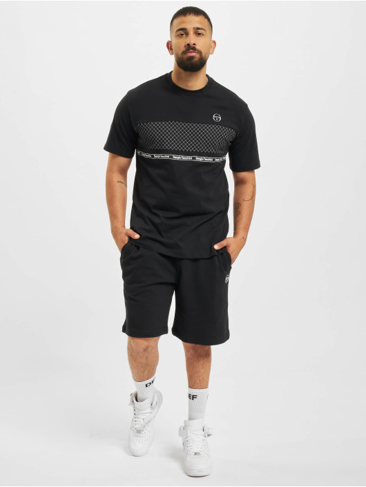 Sergio Tacchini Shorts Avocado schwarz