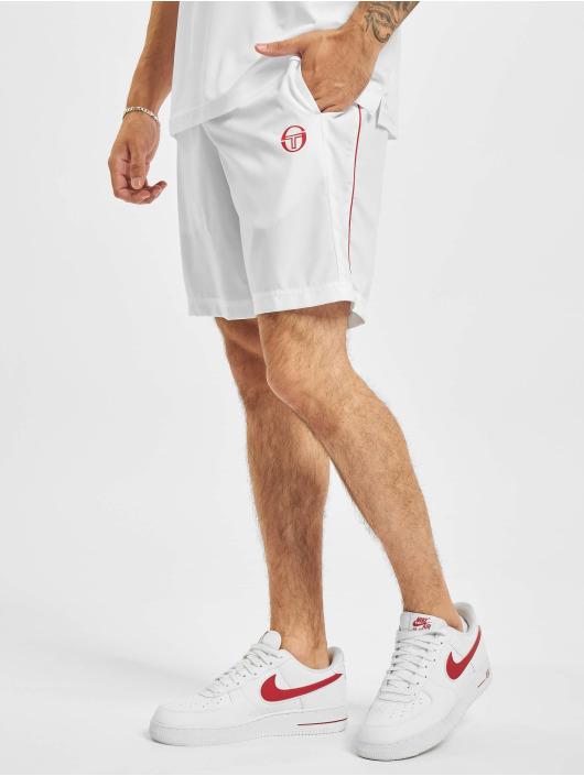 Sergio Tacchini Shorts Club Tech weiß