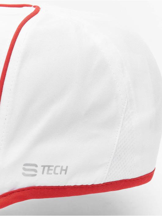 Sergio Tacchini snapback cap Club Tech wit