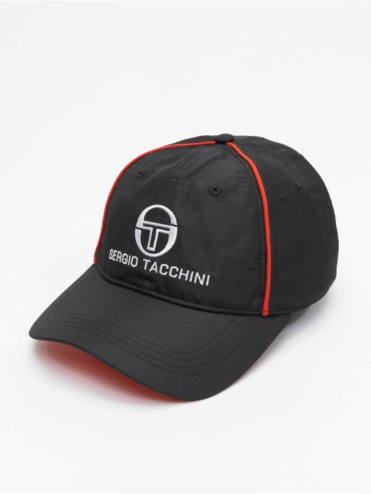 Sergio Tacchini snapback cap Fleber zwart