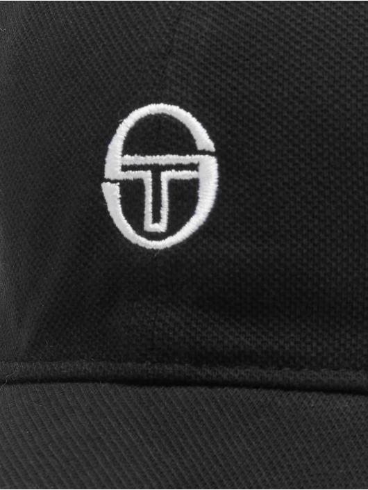 Sergio Tacchini Snapback Caps Sergio Tacchini Drake čern