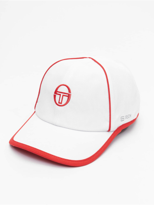 Sergio Tacchini Snapback Caps Club Tech bialy