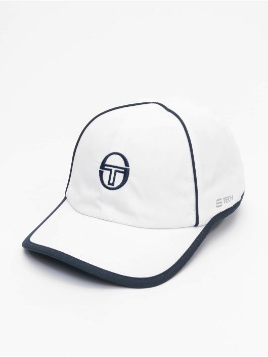 Sergio Tacchini Snapback Caps Club Tech hvit