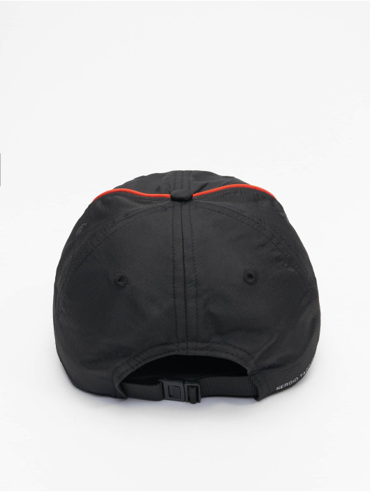 Sergio Tacchini Snapback Caps Fleber svart