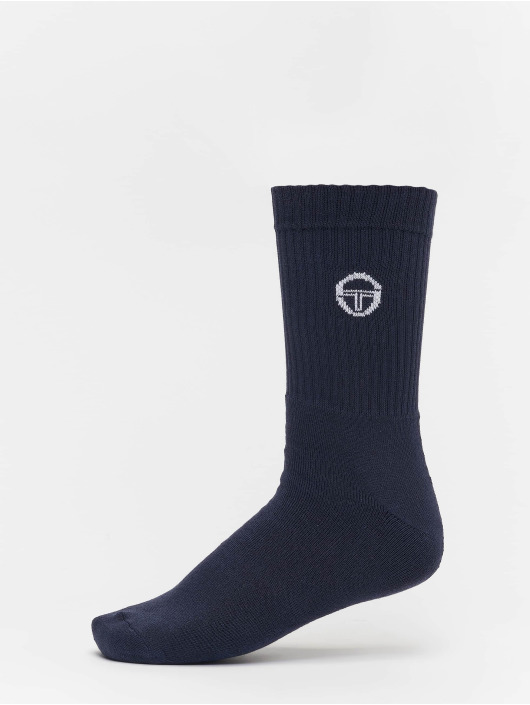 Sergio Tacchini Socken Logo blau