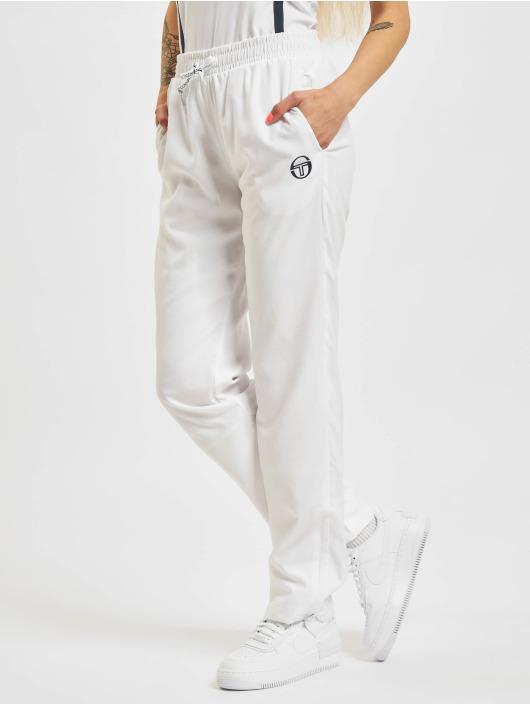 Sergio Tacchini Spodnie do joggingu Eva bialy