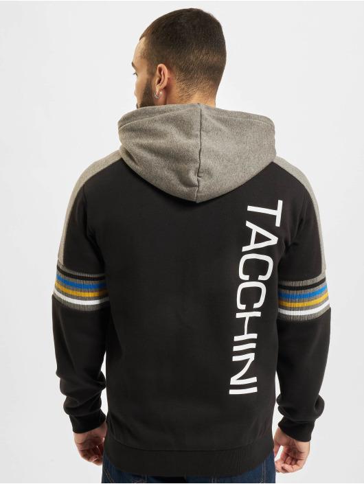 Sergio Tacchini Sweat capuche zippé Darwin noir