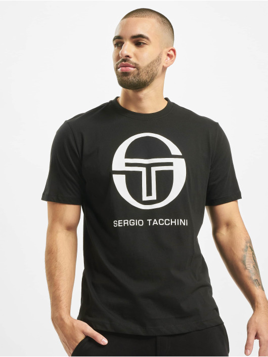 Sergio Tacchini T-paidat Iberis musta