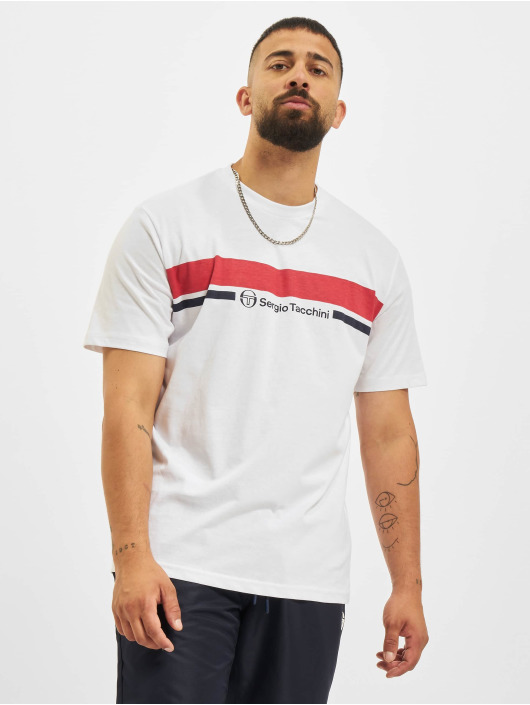 Sergio Tacchini T-shirt Anise bianco