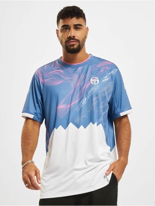 Sergio Tacchini T-shirt Liquify blå