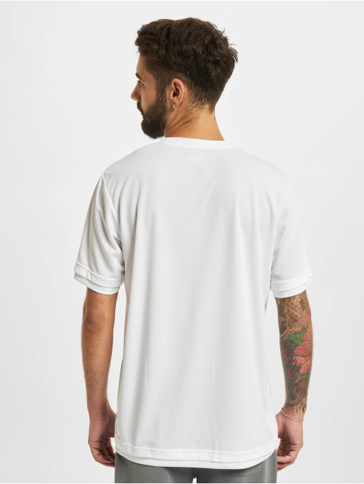 Sergio Tacchini T-Shirt Chevron blanc