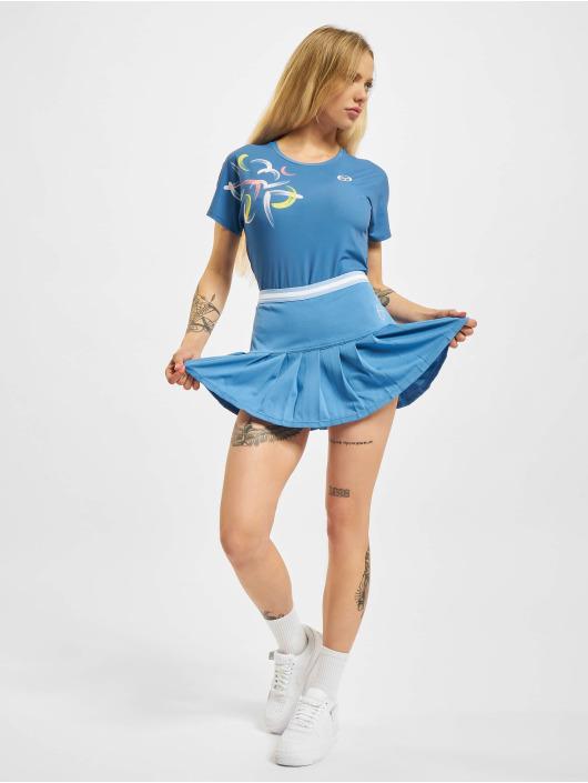 Sergio Tacchini T-Shirt Abstract blau