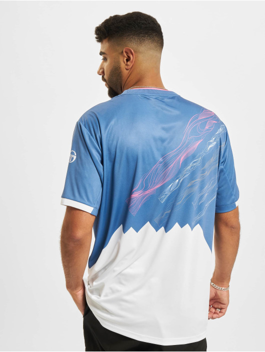 Sergio Tacchini T-Shirt Liquify blau