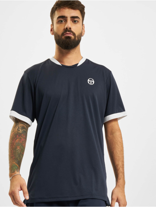 Sergio Tacchini t-shirt Club Tech blauw