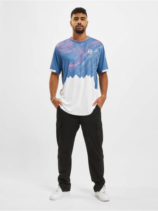 Sergio Tacchini t-shirt Liquify blauw