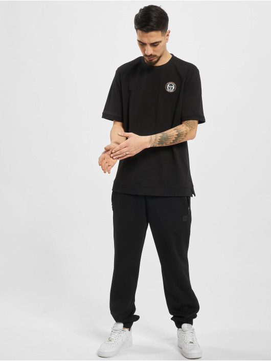 Sergio Tacchini T-Shirt Team Platin Fire noir
