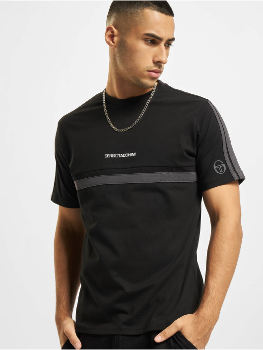 Sergio Tacchini T-Shirt Duncan noir