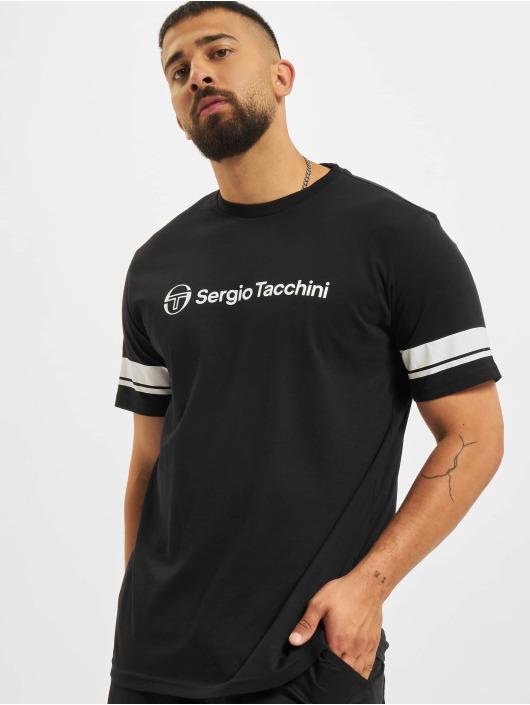 Sergio Tacchini T-Shirt Abelia noir