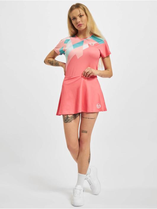 Sergio Tacchini T-Shirt Tangram pink