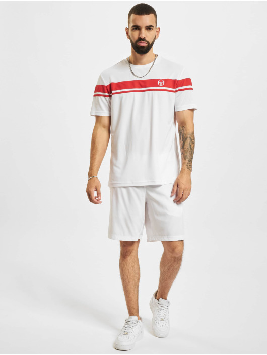Sergio Tacchini t-shirt Young Line Pro Y/Dyed rood