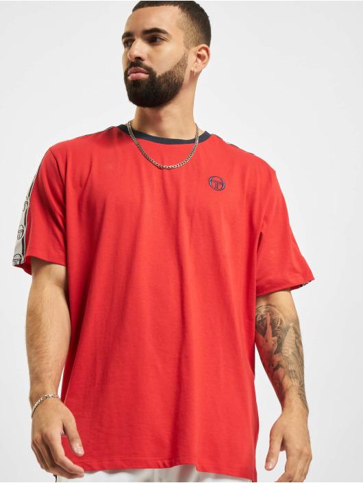 Sergio Tacchini t-shirt Dahoma rood
