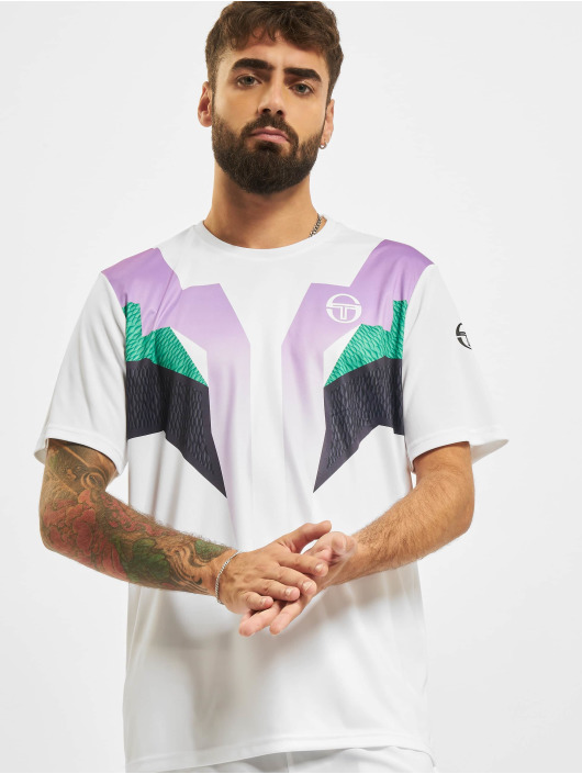 Sergio Tacchini T-Shirt Hawk weiß