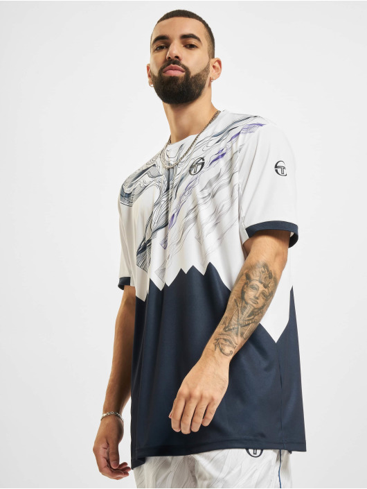 Sergio Tacchini T-Shirt Liquify white