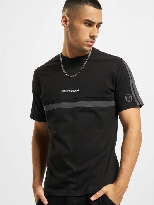 Sergio Tacchini t-shirt Duncan zwart