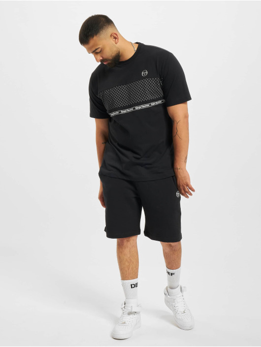 Sergio Tacchini t-shirt Noden zwart