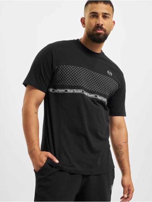 Sergio Tacchini T-shirts Noden sort