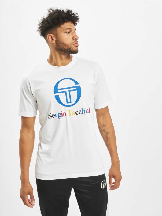 Sergio Tacchini T-Shirty Chiko bialy