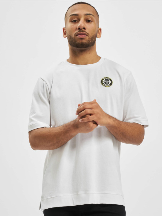 Sergio Tacchini T-Shirty Team Platin Fire bialy