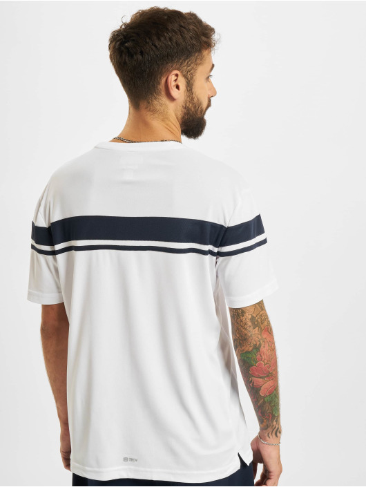 Sergio Tacchini T-Shirty Young Line Pro Y/Dyed bialy
