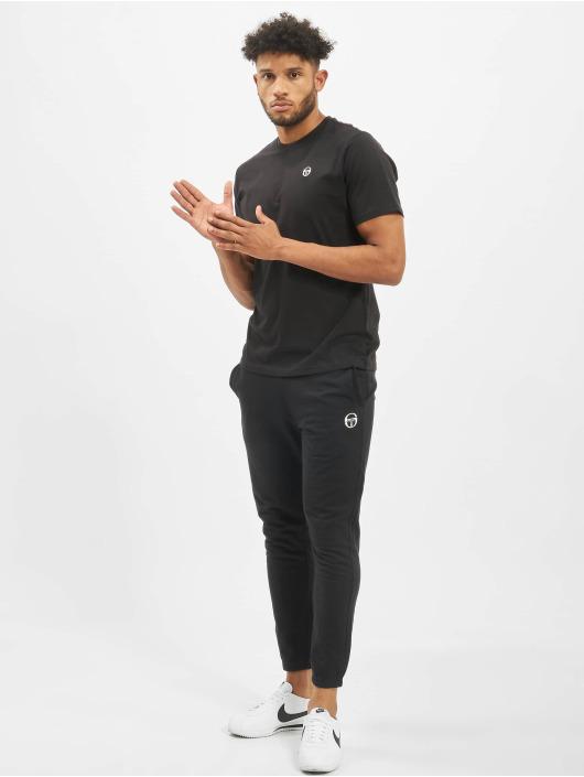 Sergio Tacchini T-Shirty Diaocco 017 czarny