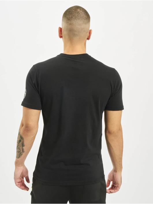 Sergio Tacchini T-Shirty New Irune czarny