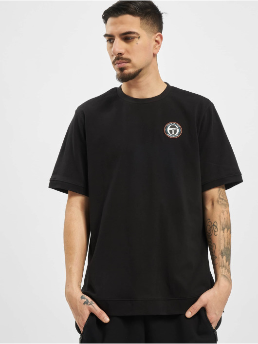 Sergio Tacchini T-Shirty Team Platin Fire czarny