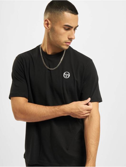 Sergio Tacchini T-Shirty Sergio czarny