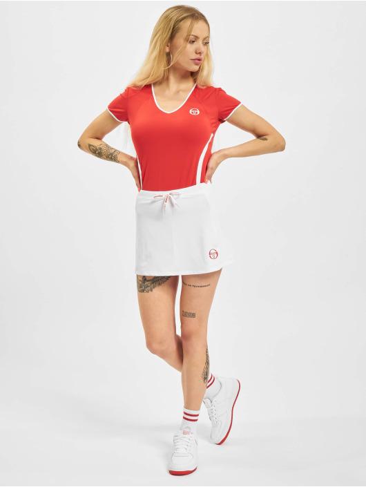 Sergio Tacchini T-Shirty Eva czerwony