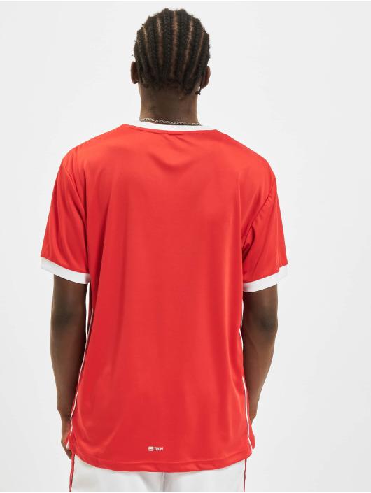 Sergio Tacchini T-Shirty Club Tech czerwony