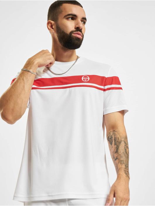 Sergio Tacchini T-Shirty Young Line Pro Y/Dyed czerwony