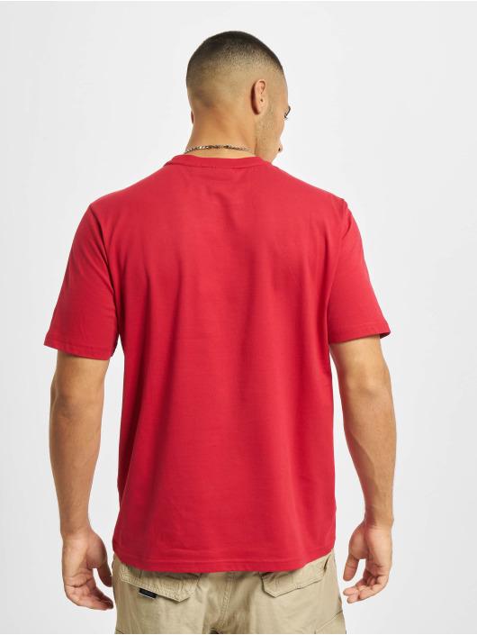 Sergio Tacchini T-Shirty Fredonia Mc czerwony
