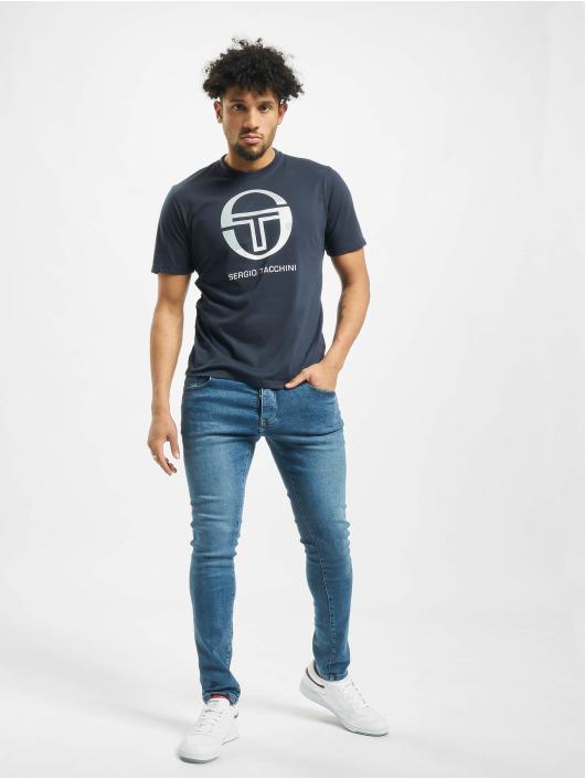 Sergio Tacchini T-Shirty Elbow niebieski