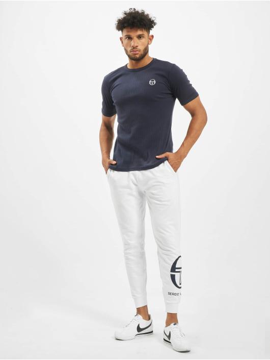 Sergio Tacchini T-Shirty Drop niebieski